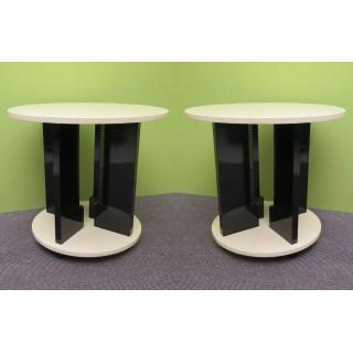 T 133 Coppia di Tavolini Art Decò