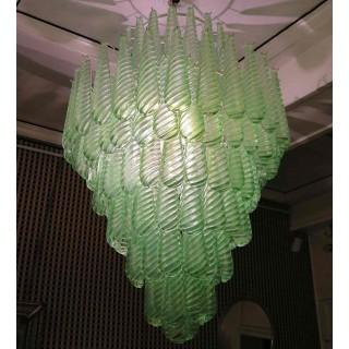 Lampadario Verde Vistosi