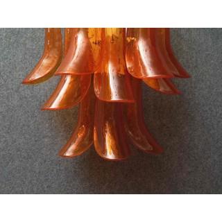 Coppia di applique in vetro di Murano