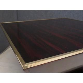 TV 153 Tavolino da salotto lastronato in ebano macassar