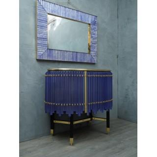CR 164  Particolare credenza in vetro di Murano