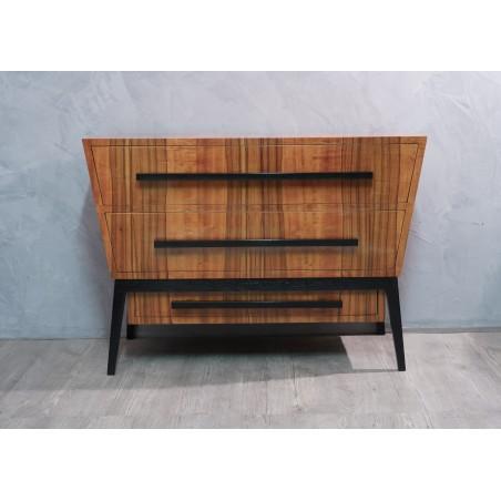 C 109 Cassettone italiano in legno di ciliego