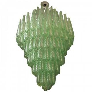 L 45  Lampadario Verde Vistosi