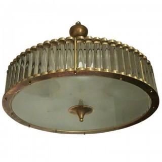 L 40  Lampadario Murano anni '30