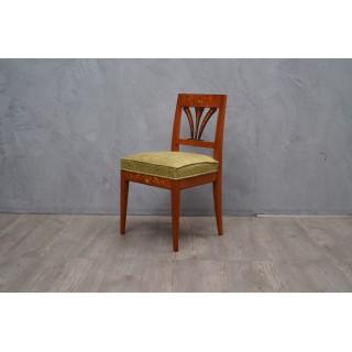 SD 4 Quattro sedie in noce