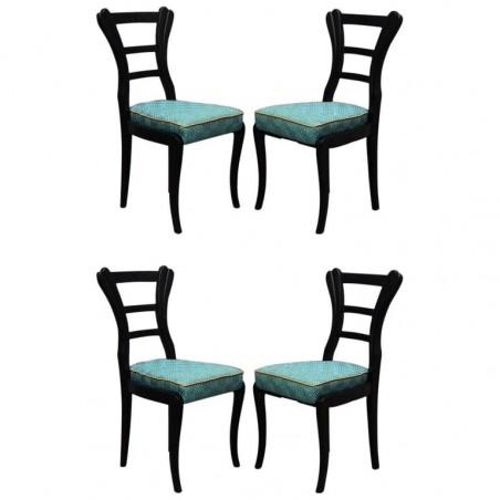 SD 56 Quattro sedie Biedermeier austriache, 1820