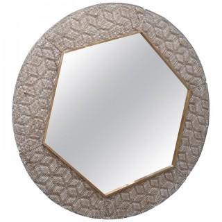 SP 35 Specchiere in Vetro di Murano oro e bianco