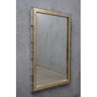 SP 36 Specchiere in vetro verde di Murano