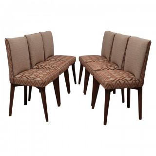 SD 51 Gruppo di sei sedie in legno di frassino